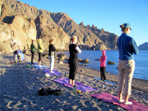 Yoga and Sea Kayaking in the Baja